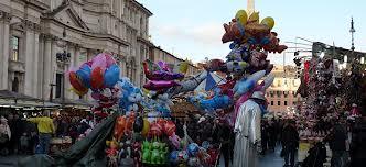 Cazzeggio festivo a piazza Navona