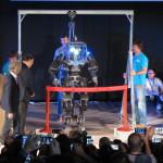 Maker Faire 2015, Il Robot taglia il nastro al termine della conferenza di apertura