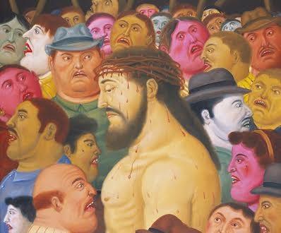 Botero, forme e colori di una Via Crucis tra dolore e piacere estetico