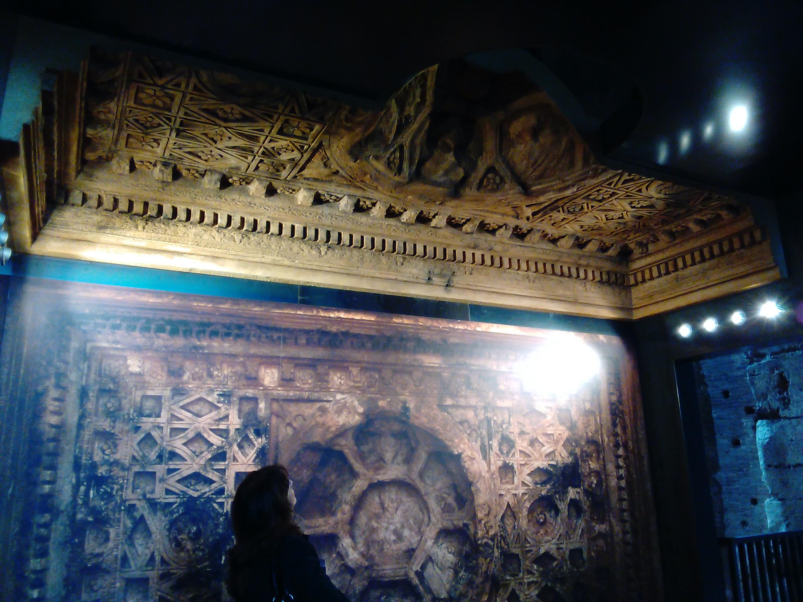 Riproduzione del soffitto del Tempio di Bel a Palmira