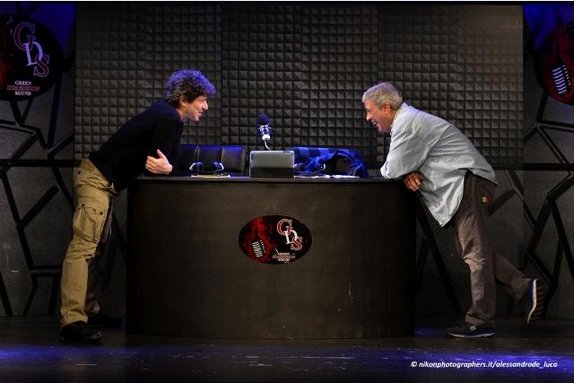 Due di Notte al Teatro 7 fino al 22 gennaio 2017, con Michele La Ginestra e Sergio Zecca