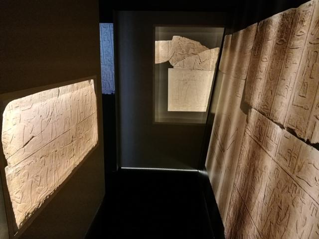 All'ombra delle Piramidi, particolare dell'installazione