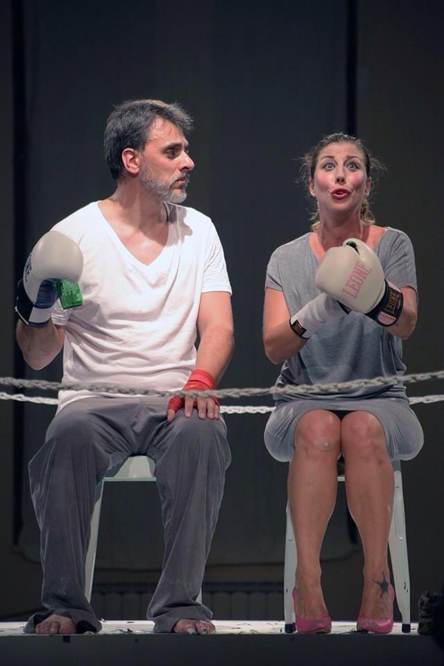 Ring al teatro Cometa con Michela Andreozzi e Massimiliano Vado