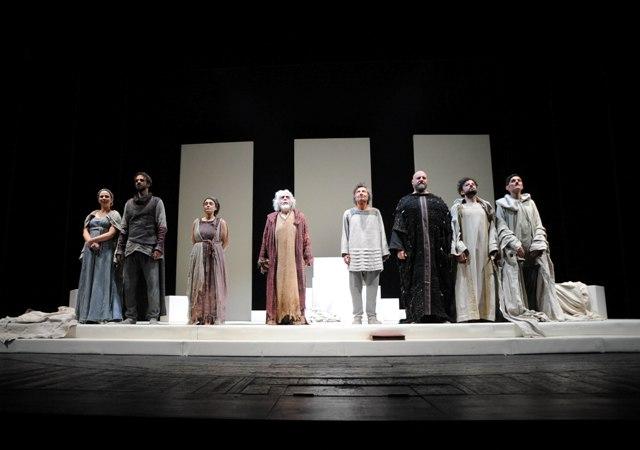 L'immortale opera di Sofocle al teatro Eliseo fino al 12 febbraio (foto Andrea Pacioni)