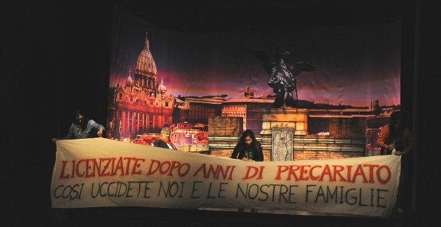 Disoccupazione ed opera lirica unite dall'emozione del teatro