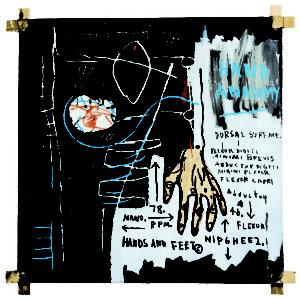 basquiat-jean-michel-untitled-hand-anatomy-1982