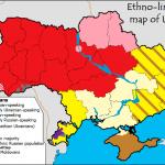 Divisioni etnolinguistiche in Ucraina