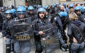 Allerta manganelli a Roma