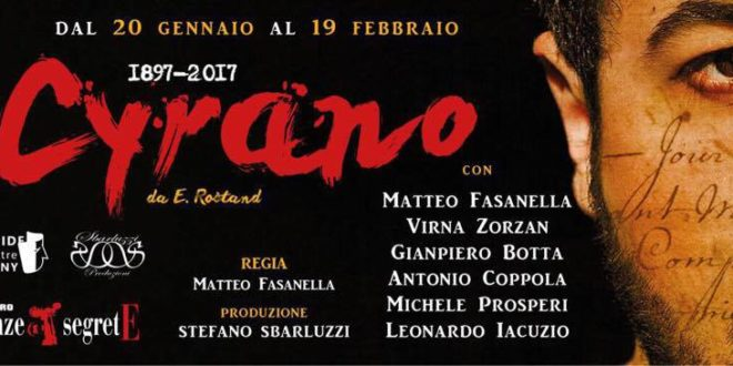 L'amor dannato di Cyrano al teatro Stanze Segrete