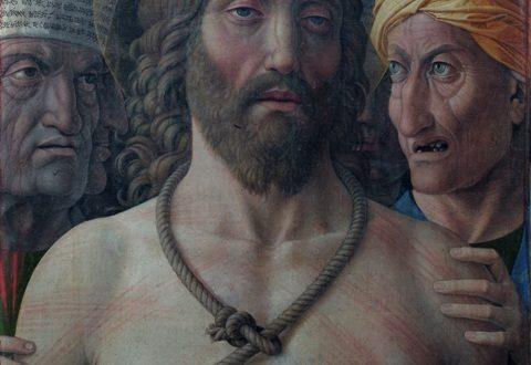 1.Mantegna, Ecce Homo, particolare