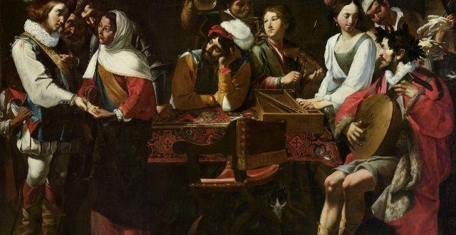 Gregorio e Mattia Preti, Concerto con scena di buona ventura