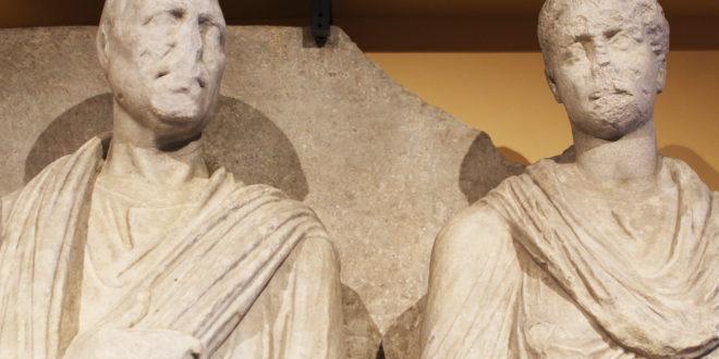 L'effigie di Eurisace ed Atistia in mostra dopo secoli di oblio