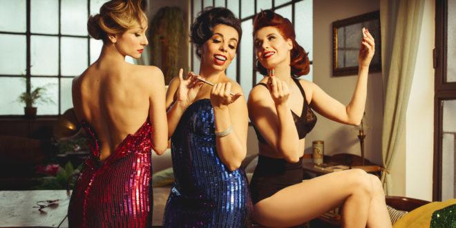 Ladyvette: tre lady e dive alla Cometa