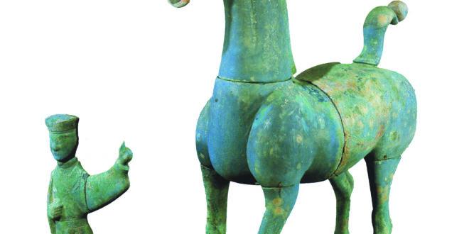 Museo di Mianyang_Stalliere di Bronzo e Cavallo di bronzo
