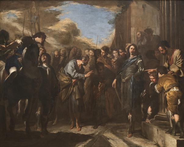 Beranrdo Cavallino – Commiato di Pietro E Paolo