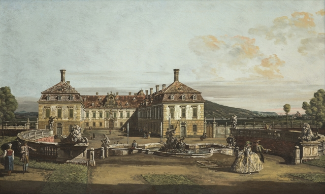 Bernardo Bellotto – Castello Schlosshof