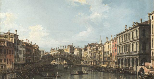 Canaletto – Venezia il ponte di Rialto