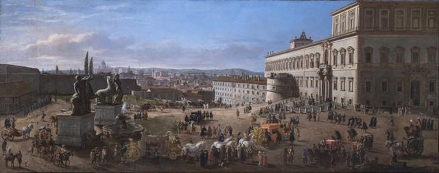 Gaspar Van Wittel – Roma Quirinale