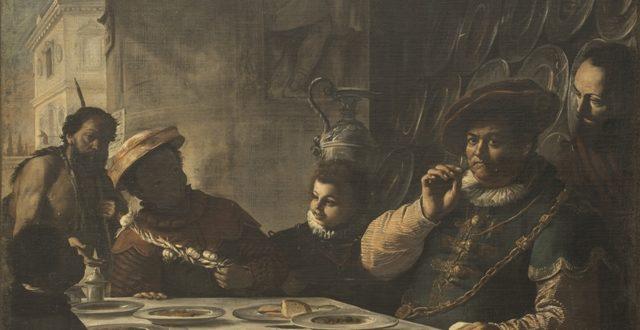 Mattia Preti- La cena del ricco Epulone