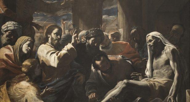 Mattia Preti – Resurrezione di Lazzaro