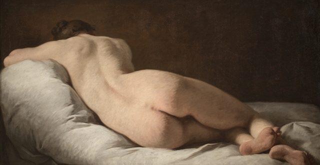 Pierre Subleyras – Nudo femminile di schiena