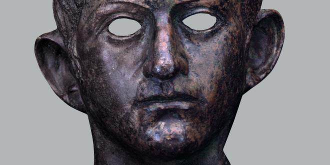 Ritratto di Claudio o Nerone in Bronzo da Colchester (The British Museum)