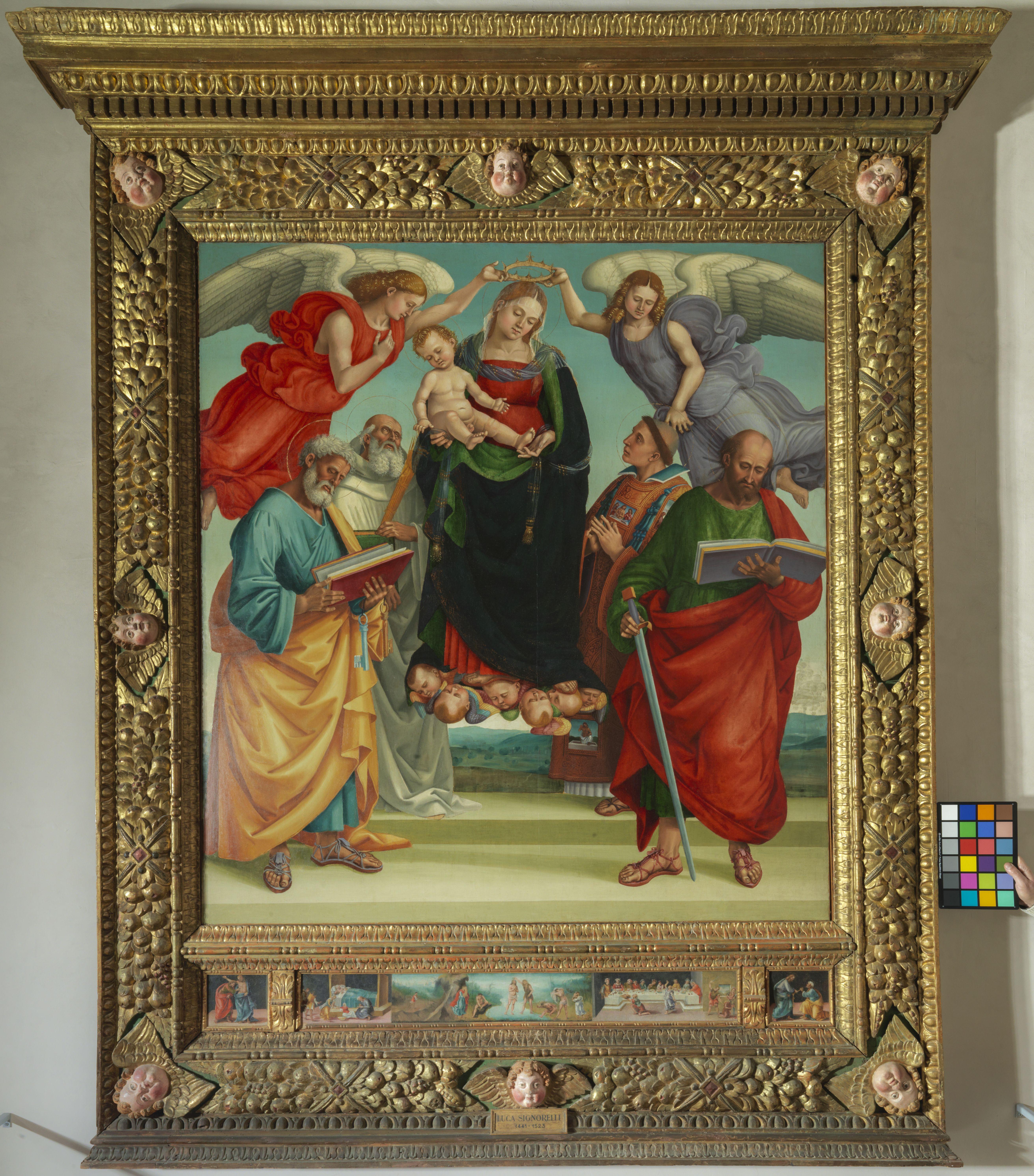 13. Castel Sant'Angelo Madonna con Bambino e Santi