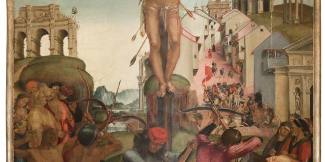 3. Citt+á di Castello_Pinacoteca_Signorelli_Martirio S.Sebastiano