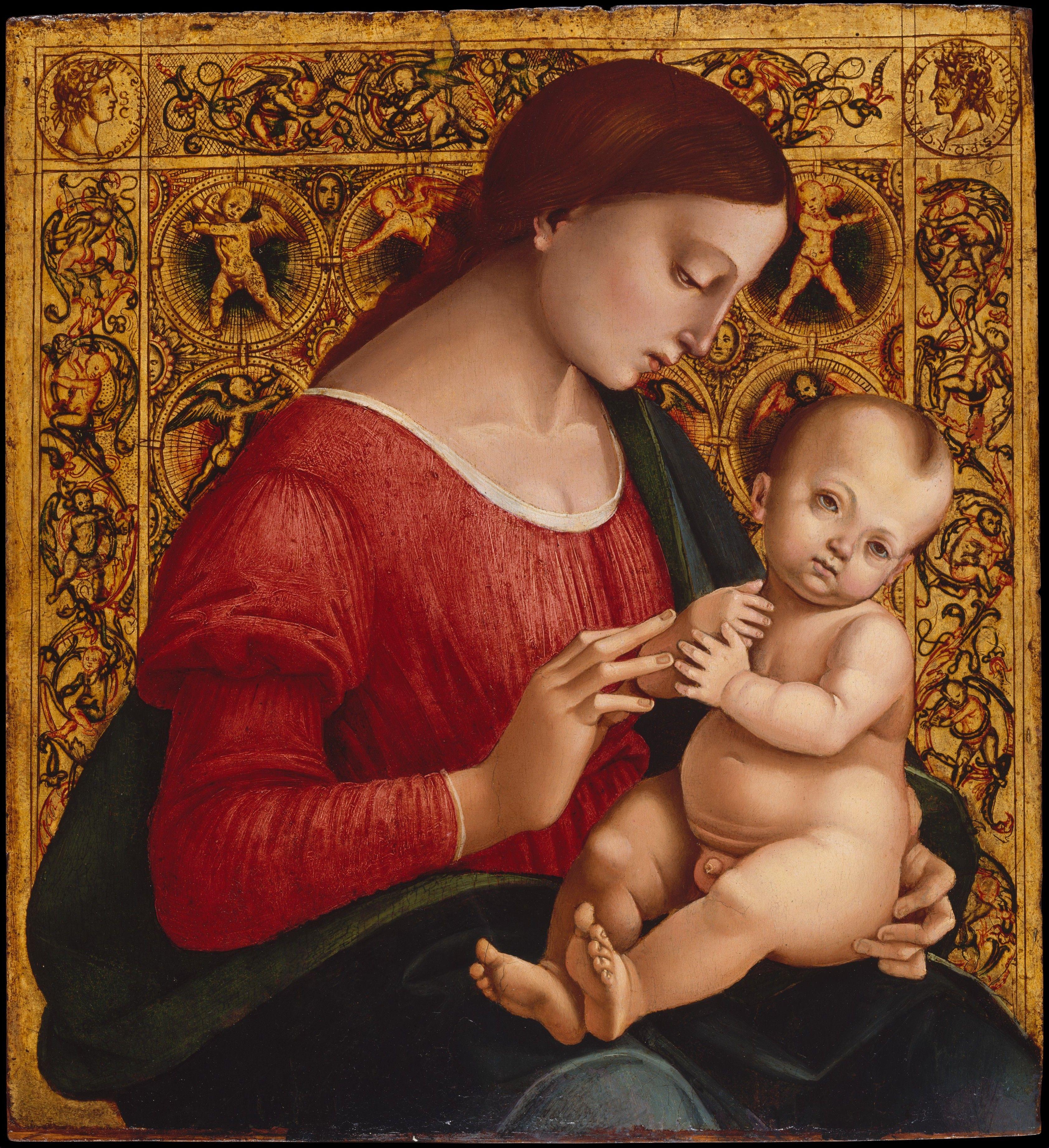 4. NY_Metropolitan_Signorelli_Vergine col bambino