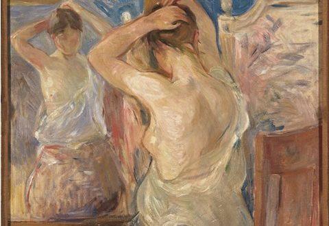 Berthe Morisot – Devant la psyché, 1890