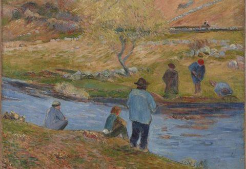Paul Gauguin – Breton Fishermen, 1888