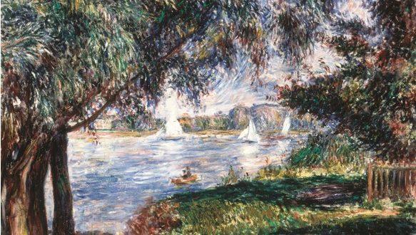 Pierre-Auguste Renoir – Bougival, 1888