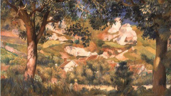 Pierre-Auguste Renoir – Paysage à la Roche-Guyon, 1887