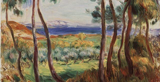Pierre-Auguste Renoir – Pins aux environs de Cagnes, 1910 –circa