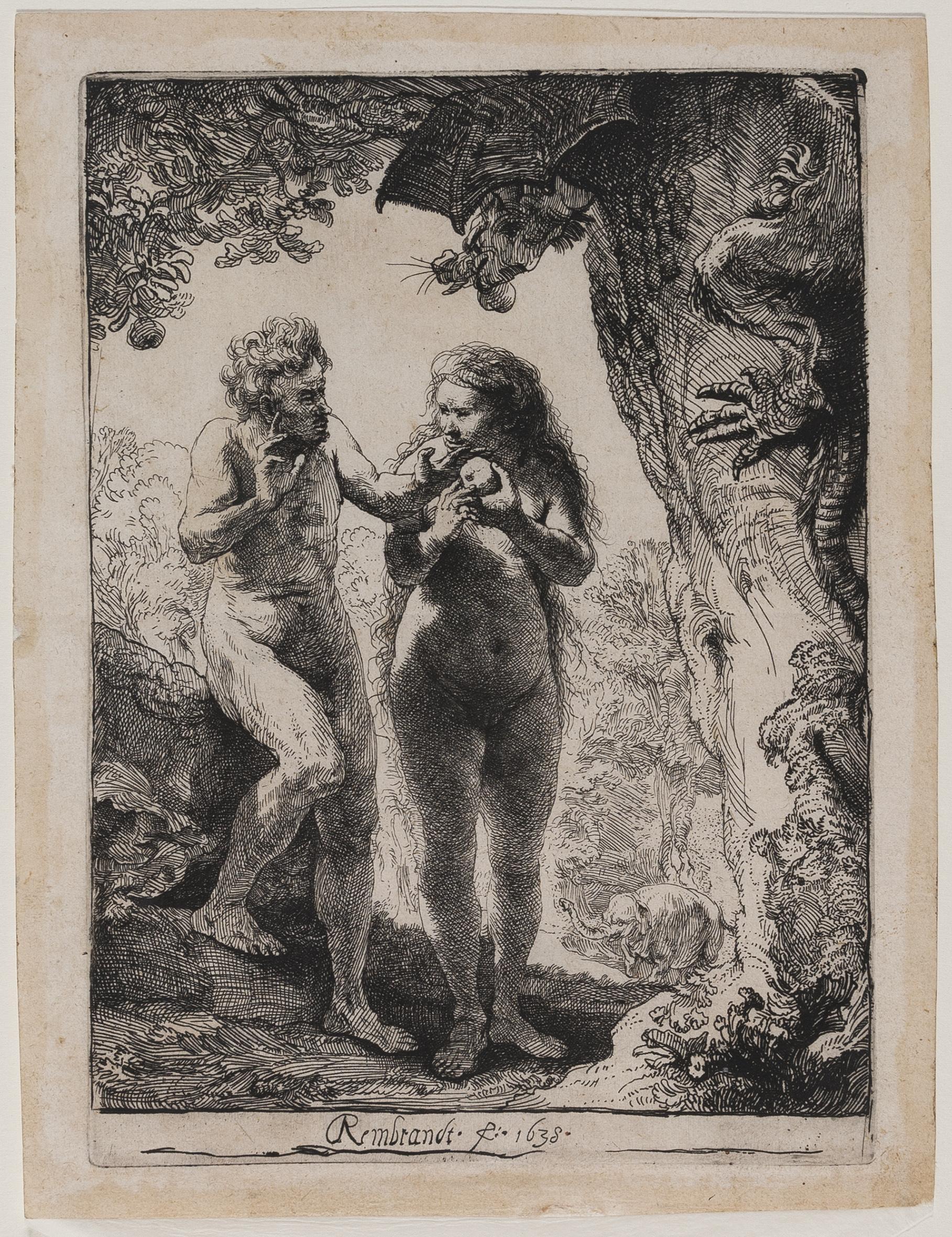 Rembrandt – Adamo ed Eva