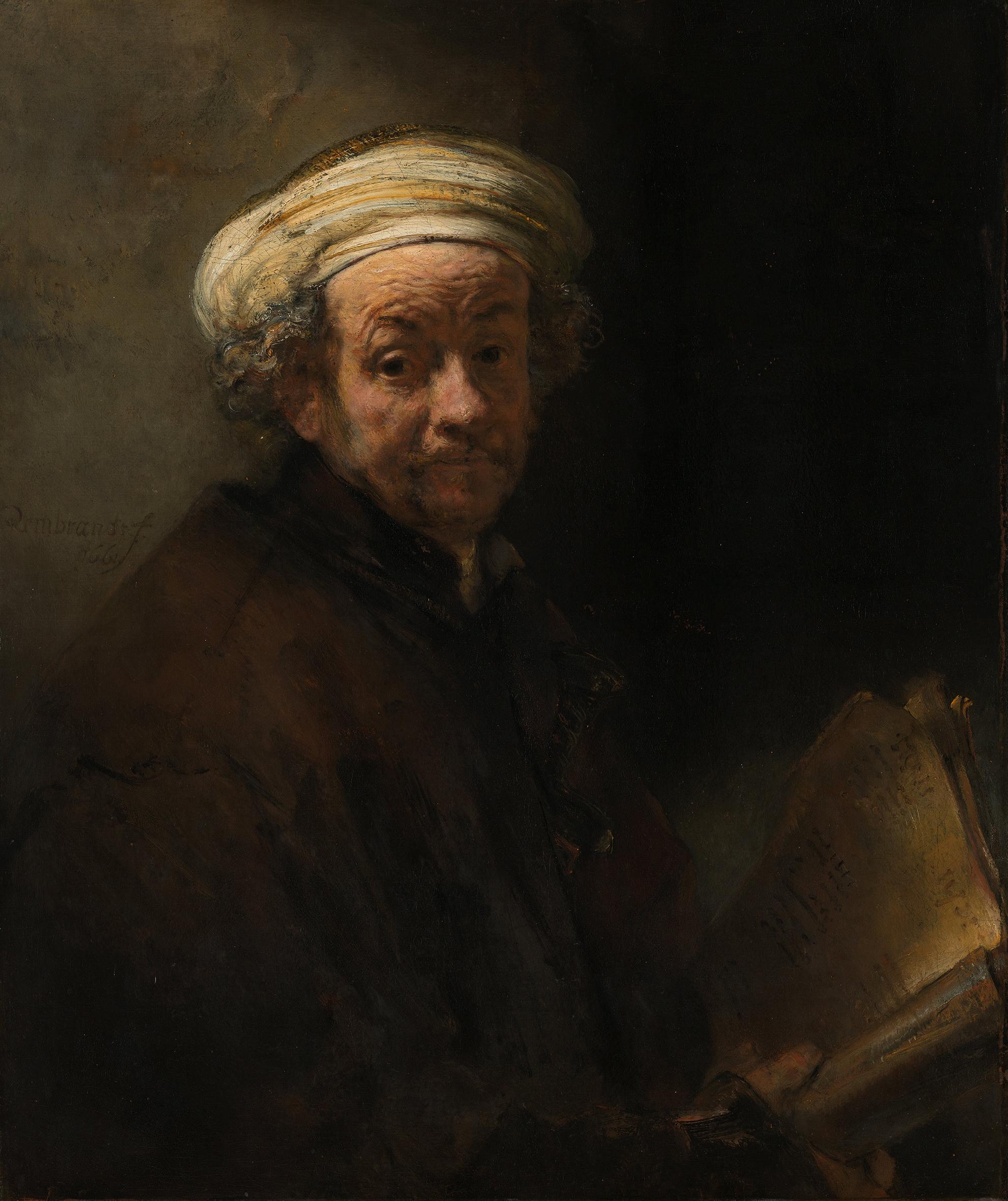 Rembrandt – Autoritratto come san Paolo