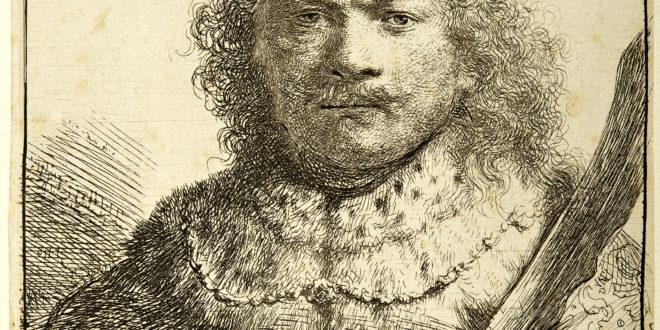 Rembrandt – Autoritratto con sciabola