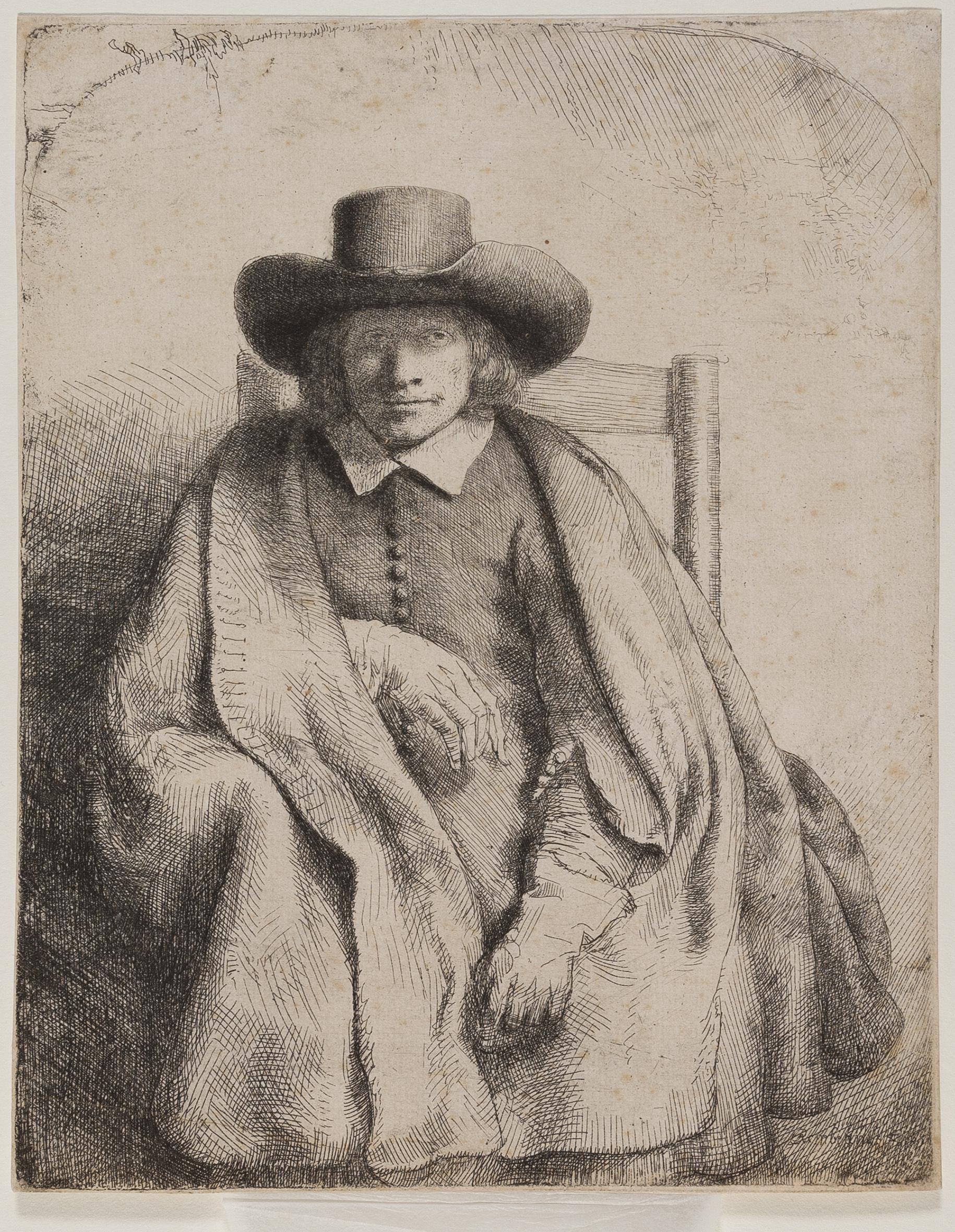 Rembrandt – Ritratto di Clement de Jonghe