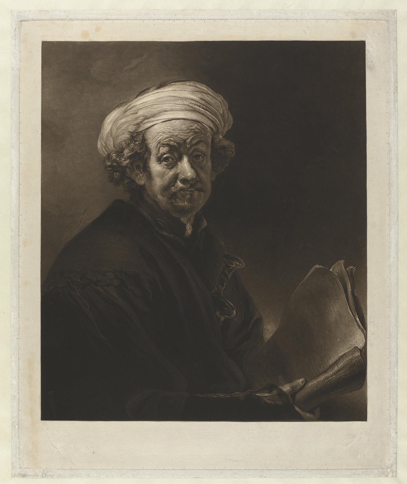 Turner – Autoritratto di Rembrandt come san Paolo