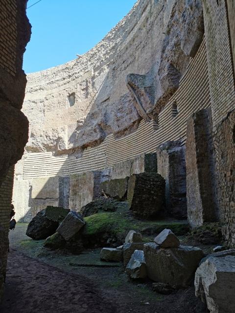 Mausoleo di Augusto interno
