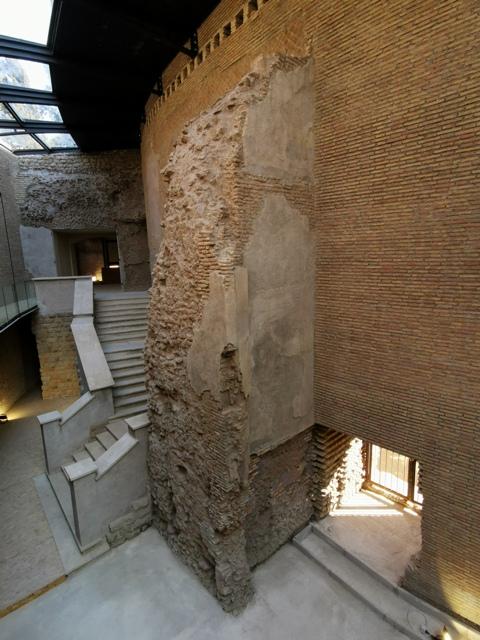 Mausoleo di Augusto – nuove passerelle antico ingresso