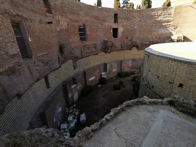 Mausoleo di Augusto – panoramica dall'alto