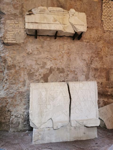 Mausoleo di Augusto – particolare dromos