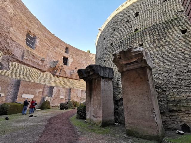 Mausoleo di Augusto – spazi interni