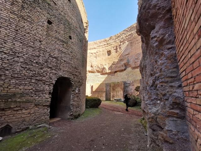 Mausoleo di Augusto – spazio interno