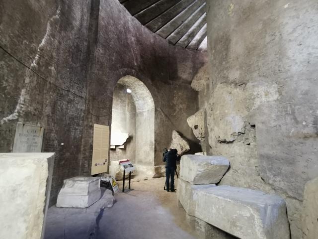 Mausoleo di Augusto – struttura cilindrica