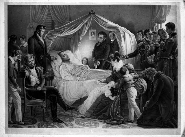 Jean Pierre Marie Jazet – Morte di Napoleone