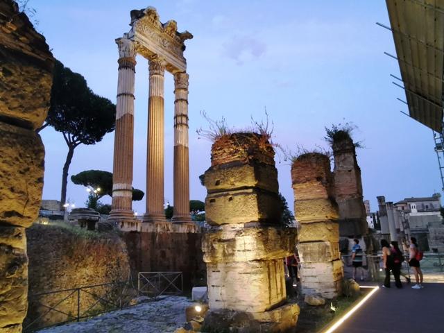 Foro di Cesare tempio di Venere
